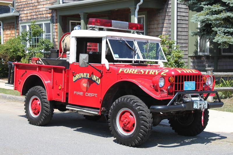 Retired  Forestry 2   1951 Dodge   100/200