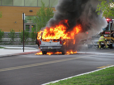 Vehicle Fire - Springfield
