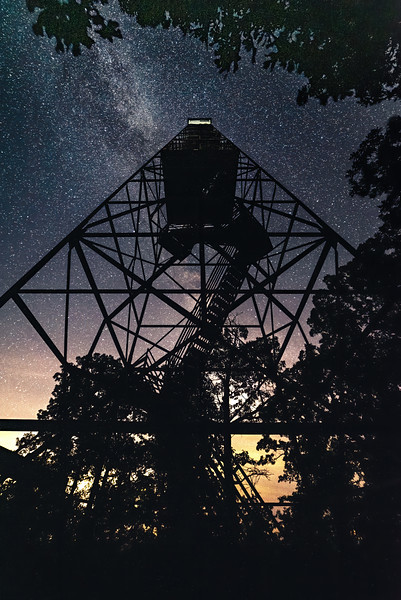 Knob Lick Fire Lookout Tower