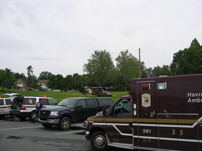 05/17/09 - Boat Fire at Tydings Park