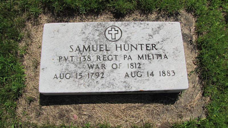 Pvt. Samuel Hunter