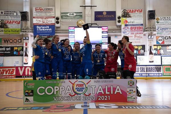 Finale Coppa Italia Femminile: Roller Matera vs Hockey Valdagno