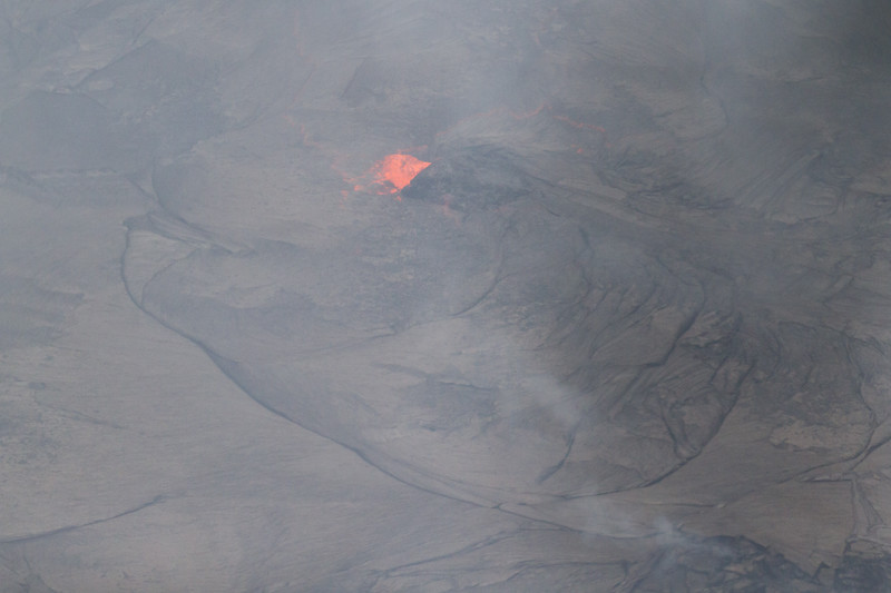 Active lava at Kilauea