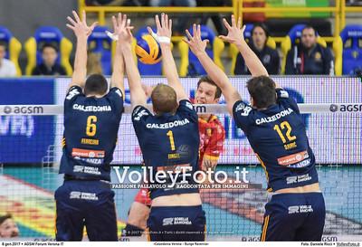5ª ritorno #SuperLega «Calzedonia Verona - Bunge Ravenna»
