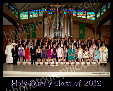 Holy Family Graduation 2012