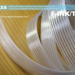 SKU: F-INK/TUBE,  8 Tubes in a Row 3(Outer Diameter)/2 (Interior Diameter) Solvent Resistant Transparent Soft Plastic Ink Tubing
