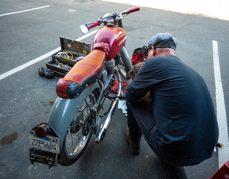 '53 MiVal 125cc 2 stroke