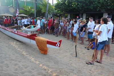 2018 Waikiki Canoe Blessing 7-4-2018