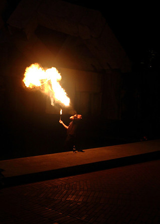 Laura's Adventures - Fire Dancers, Playing with fire