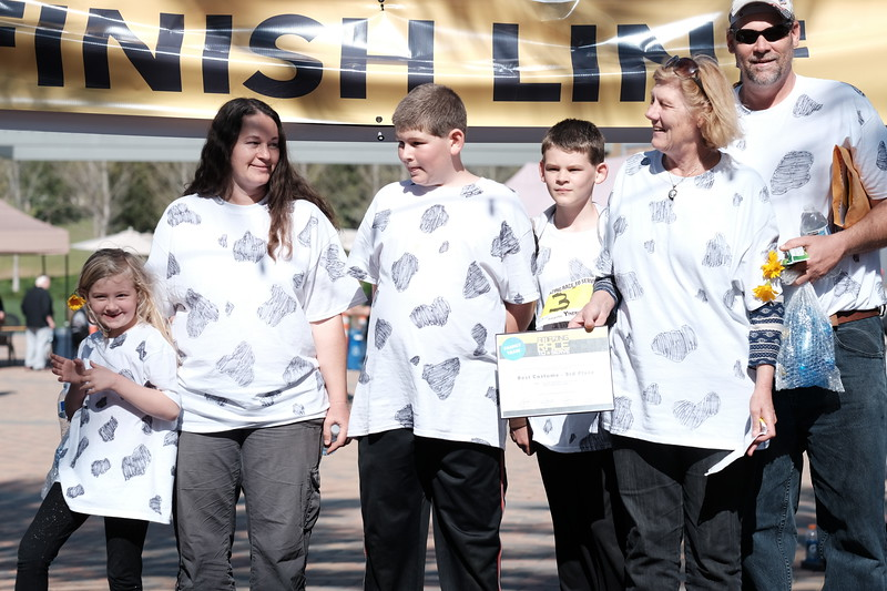 Best Costume - 3rd Place - Family Team
