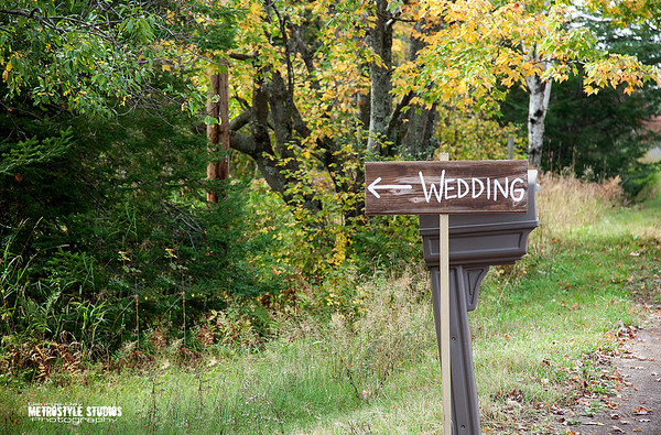 A Rustic Duluth Wedding