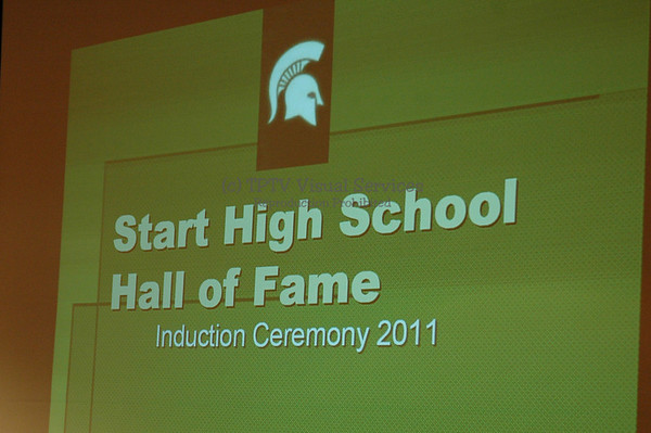Start H. S. Hall of Fame - 2011