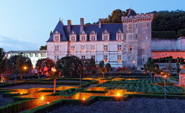 Chateau Villandry - Nuit des 1000 feux