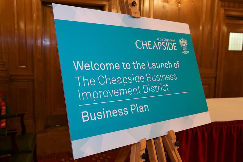 Cheapside BID Launch