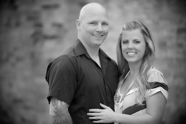 Melissa and Mike Engagement Portraits