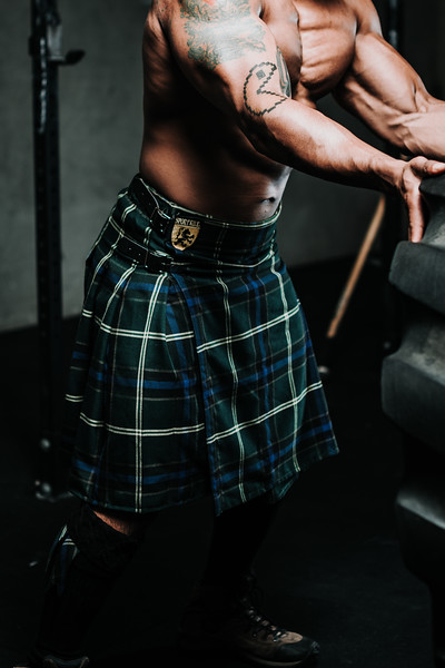 Sport Kilt - Gym shoot