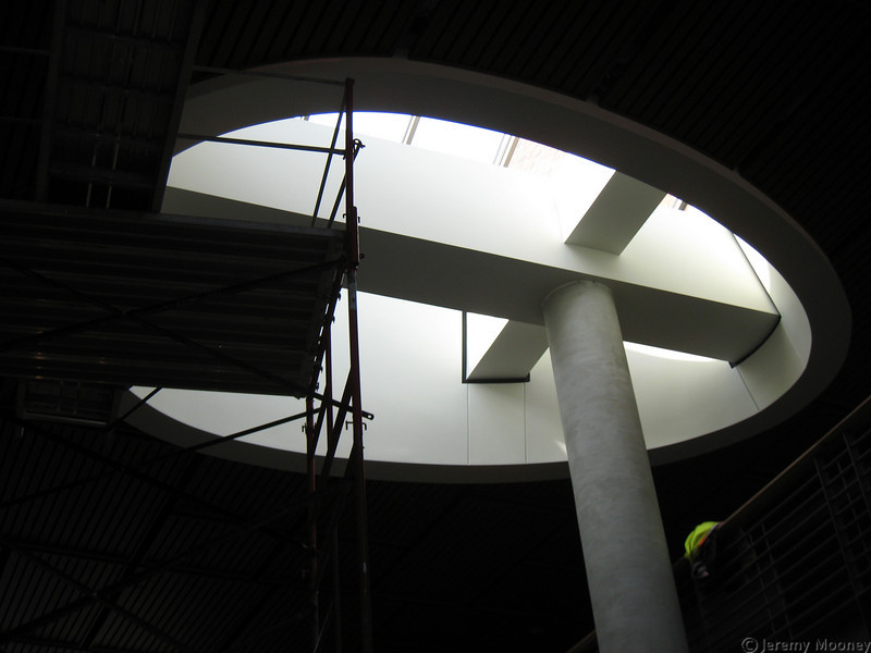 Atrium area skylight