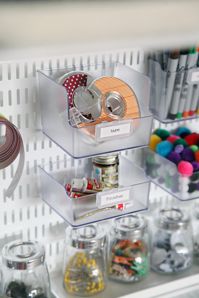 Ultimate Craft Closet Organization