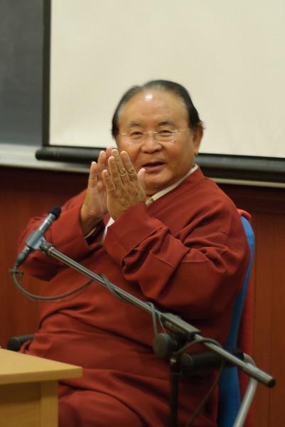 Sogyal Rinpoche (Wednesday evening)