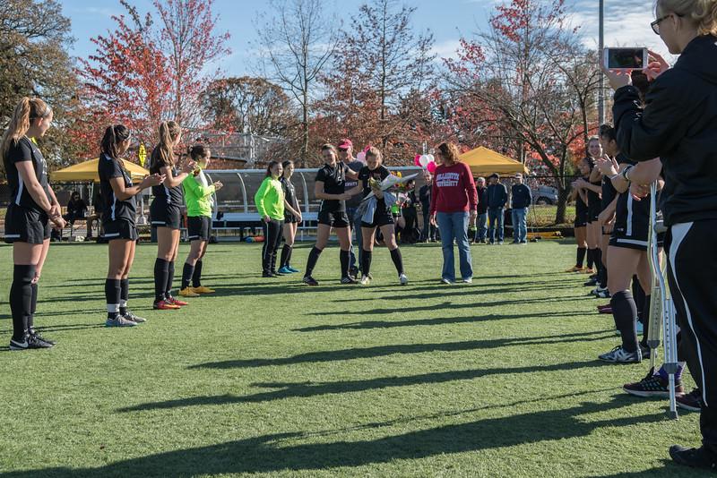 Women's Soccer Senior Day