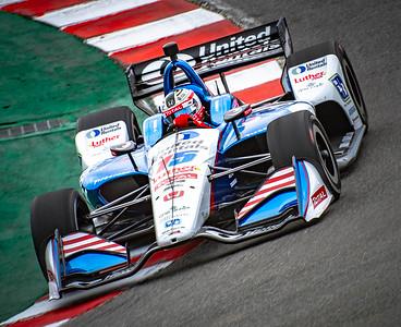 Indy Car Testing Laguna Seca Feb 2019