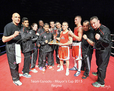 Hi-Lites of Canada vs. Puerto Rico Mayor's Cup Boxing 2013