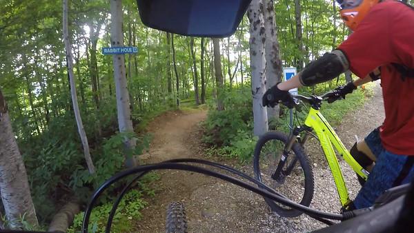 MTN Biking Killington VT June 2016