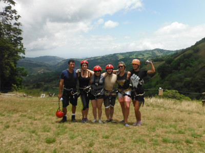 Canyoning in Costa Rica