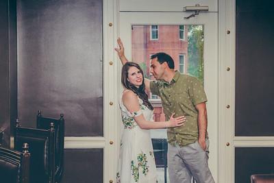 Emily+Matt { Engaged }