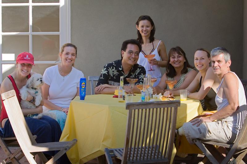 Pauletta and Kip, Laura, Randall, Valerie, Vera, Kelley, Matt