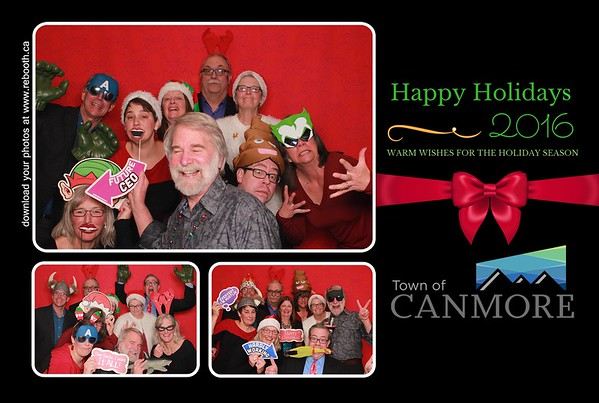 Town of Canmore Holiday Party 2016