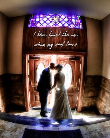 Regina & Caleb 8x10 Wedding Album