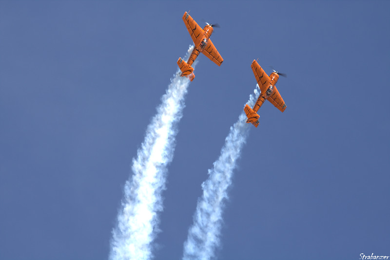 Yakovlev Yak-55m  s/n 920505 N922GR and Yakovlev Yak-55  s/n 930809 N921GR  Rome GA 10/12/2018 This work is licensed under a Creative Commons Attribution- NonCommercial 4.0 International License.