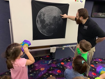 2019 Apollo Moon Landing Event at Edinboro University Planetarium, Edinboro, PA