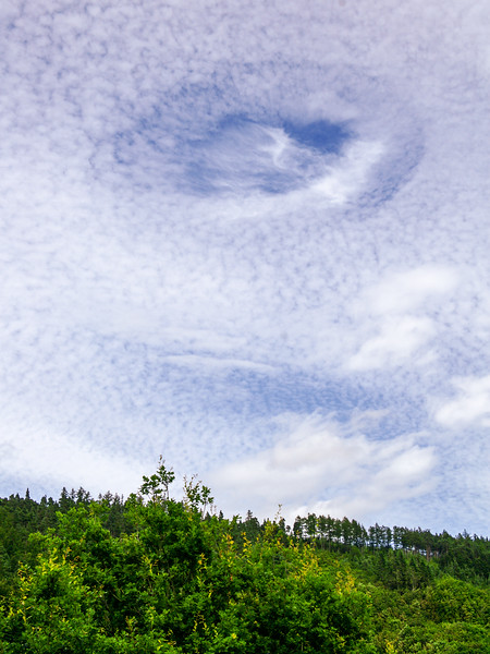 Clouds over Glendalough