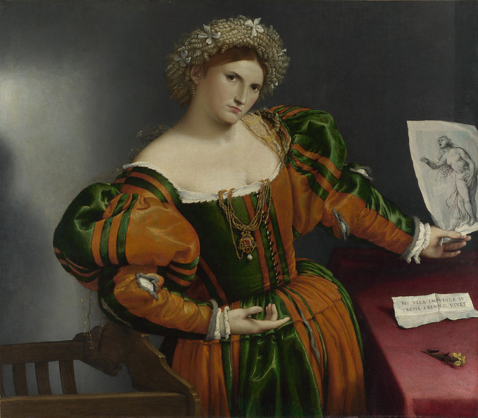 Portrait of a Woman inspired by Lucretia