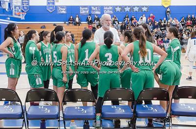 2019 Girls Basketball Eagle Rock vs El Camino Real 09Feb2019