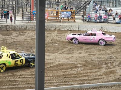 Demolition Derby Wyoming 2013