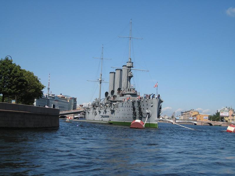 The Cruiser Aurora, St. Petersburg