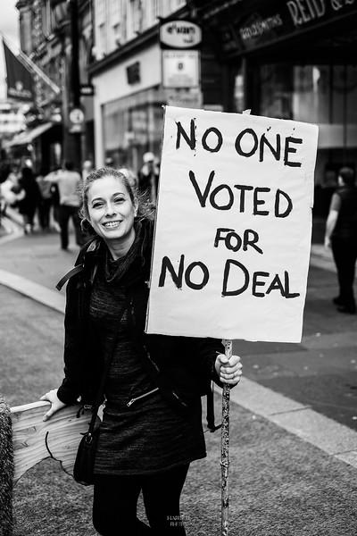Anti Brexit Demo - 31/08/2019