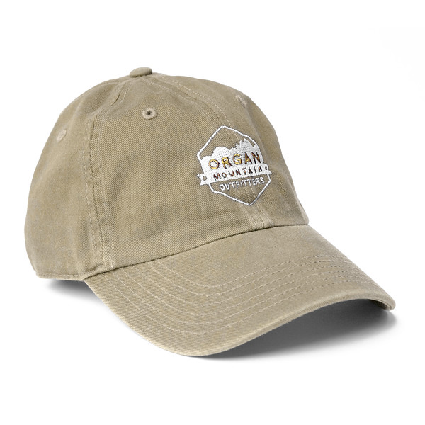 Outdoor Apparel - Organ Mountain Outfitters - Hat - Dad Cap Classic Logo - Khaki.jpg