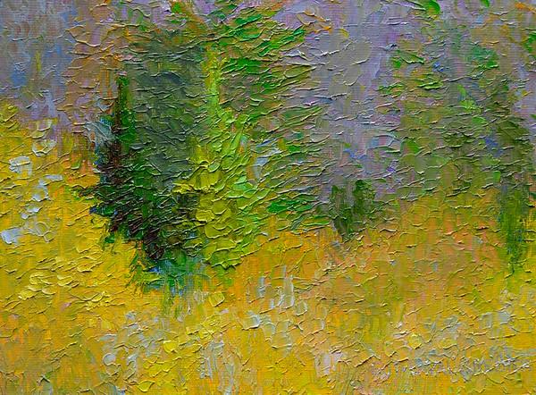 Paysages en miniature / Landscape Miniatures, Rothwell Gallery, Dec 2013