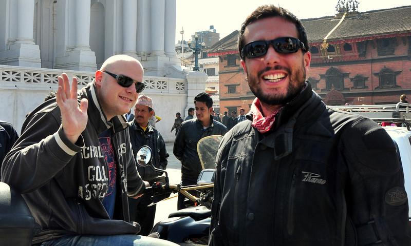 Ben and  I at Durbar Sq.