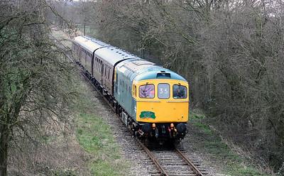 33035 - Ecclesbourne Valley Railway, 22nd March 2014