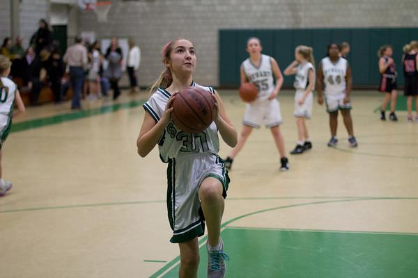 Middle School Whites Basketball vs Princeton Charter