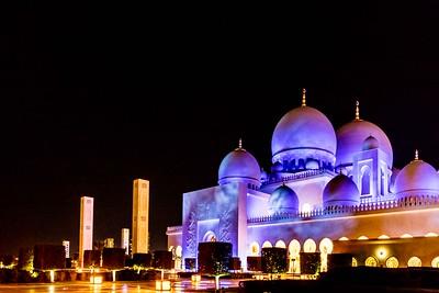 Sheikh Zayed Grand Mosque , Abu Dhabi, 2017