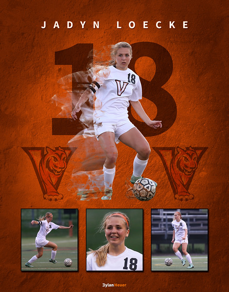 Valley Girls Soccer Posters