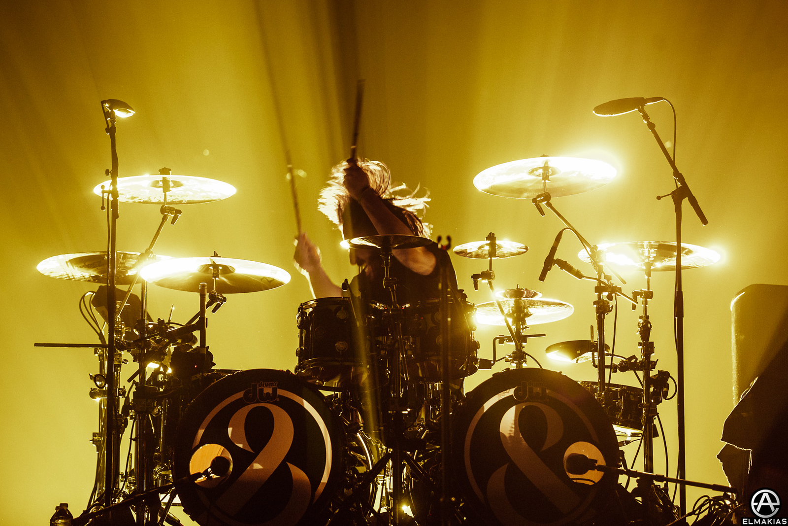 Tino of Of Mice & Men live at the Hunting Party Tour
