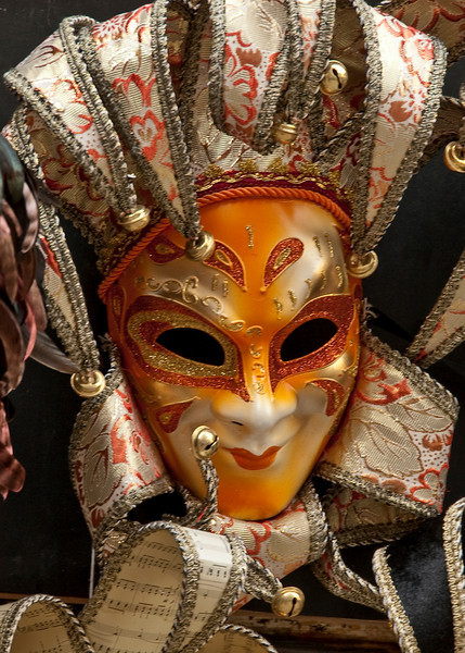 Red Mask, Venice, 7 April 2009 - 7208