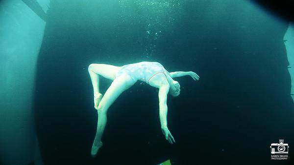 Sunken Dreams Underwater Portraiture Workshops - Hampshire
